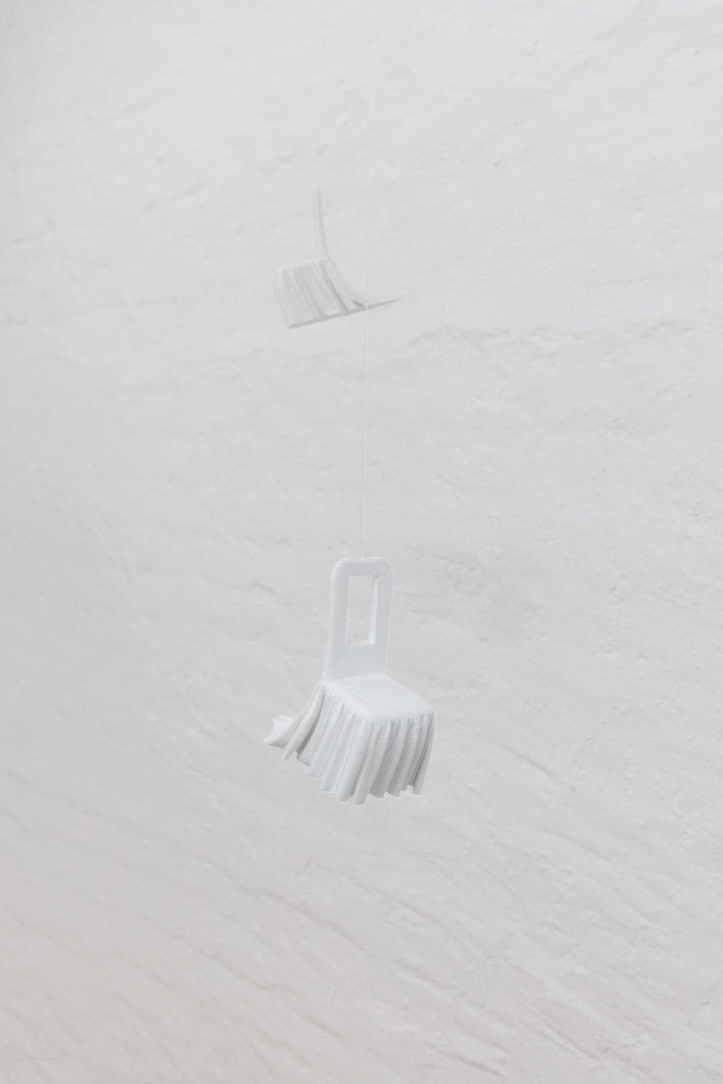 Lap-See Lam, Phantom Banquet Chair, 2019, Polylactide