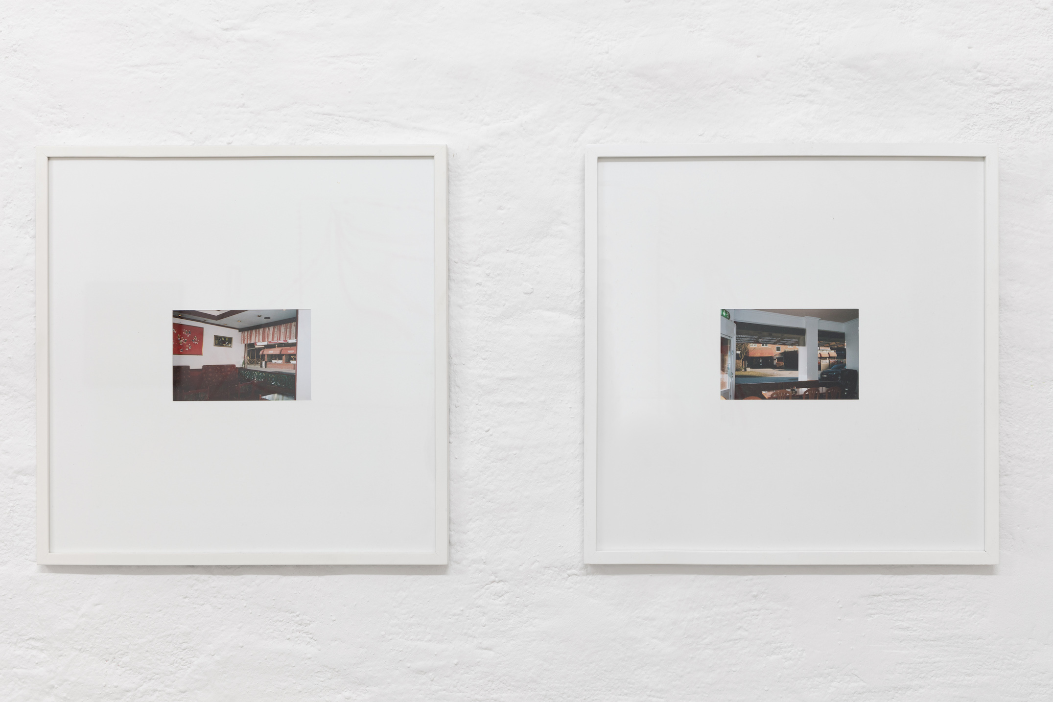 Lap-See Lam, Wang with a View of Winner House, 2015, Montage; Winner House with a View of Ho Wah, 2015, Montage