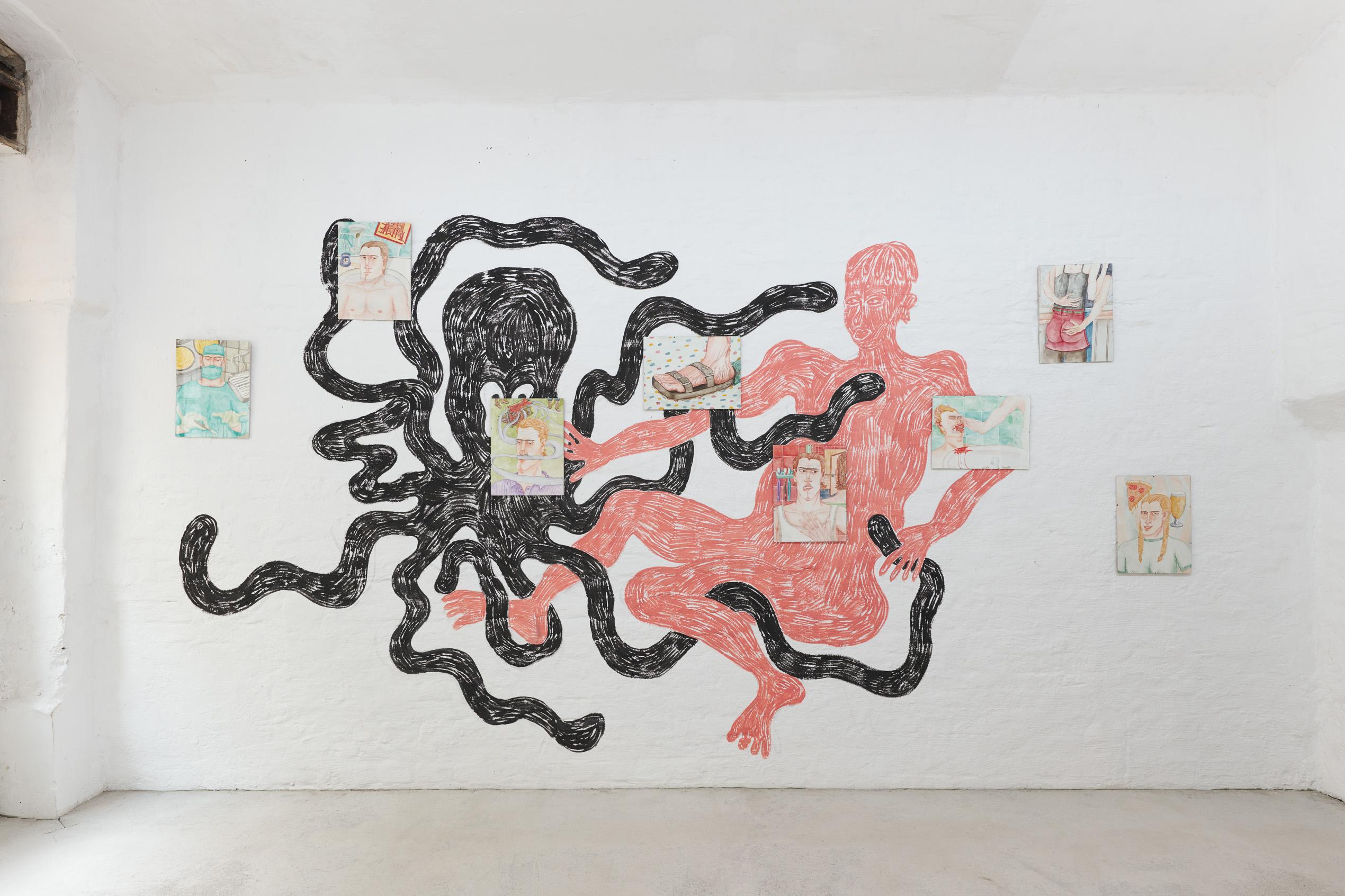 Exhibition view (Rade Petrasević, Axel Johnsson)