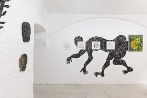 Exhibition view (Monika Grabuschnigg, Enver Hadzijaj, Rade Petrasević)