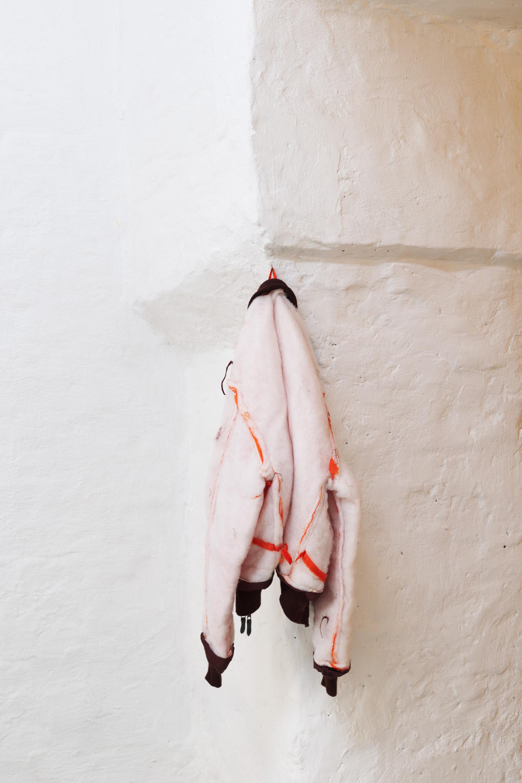 Simon Mullan, Naked bomber jacket, 2019