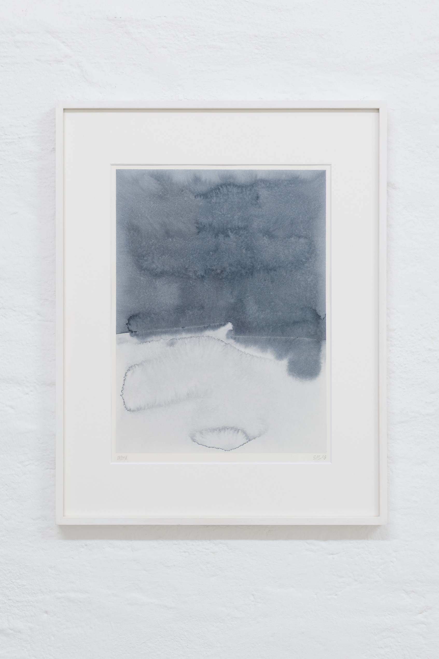 Michael Fanta, just a bruise, 2018, Watercolor on paper