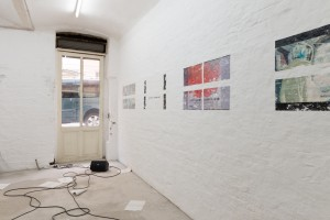 Exhibition view (Robin Waart, Connor Camburn, Emma Sims)